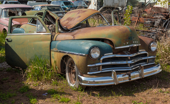 Wallys Auto Salvage >> Bruce Danz Rust Wreck And Ruin 1950 Plymouth Wally S